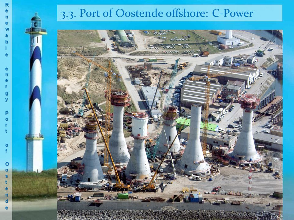 3.3. Port of Oostende offshore: C-Power