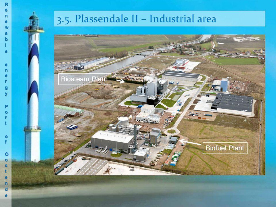 3.5. Plassendale II – Industrial area Biofuel Plant Biosteam Plant