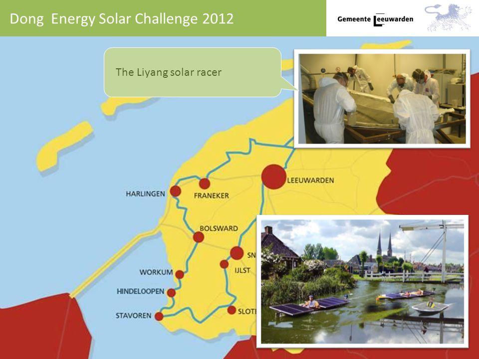 Dong Energy Solar Challenge 2012 The Liyang solar racer