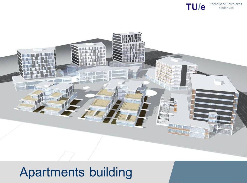 Apartments building TU/e technische universiteit eindhoven