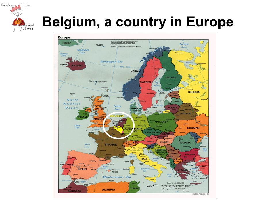 Belgium, a country in Europe