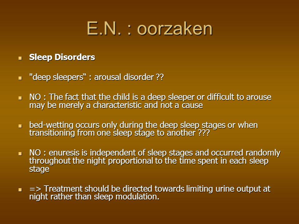 SLAAPSTOORNISSEN Ze slapen «te diep» Ze slapen «te diep» Nachtelijk EEG zou een verband aantonen??.