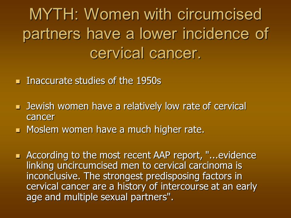 Cancer of the cervix in women is due to the Human Papilloma Virus.