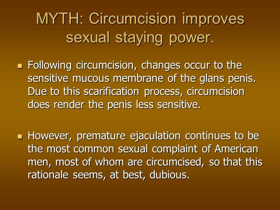 MYTH: Christians should be circumcised like Jesus.