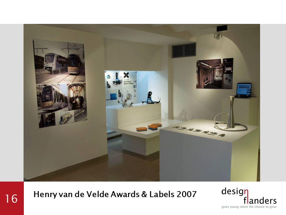 16 Henry van de Velde Awards & Labels 2007