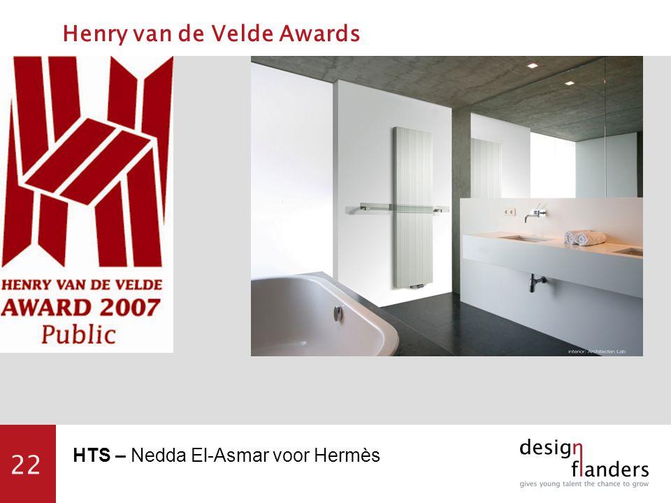 22 HTS – Nedda El-Asmar voor Hermès Henry van de Velde Awards