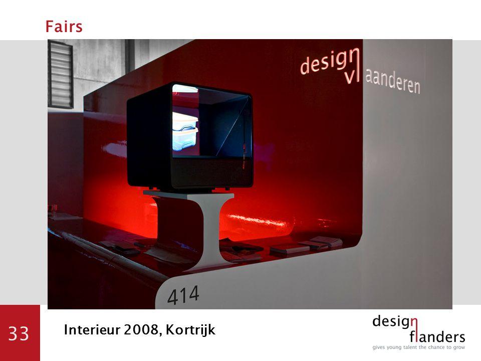 33 Fairs Interieur 2008, Kortrijk