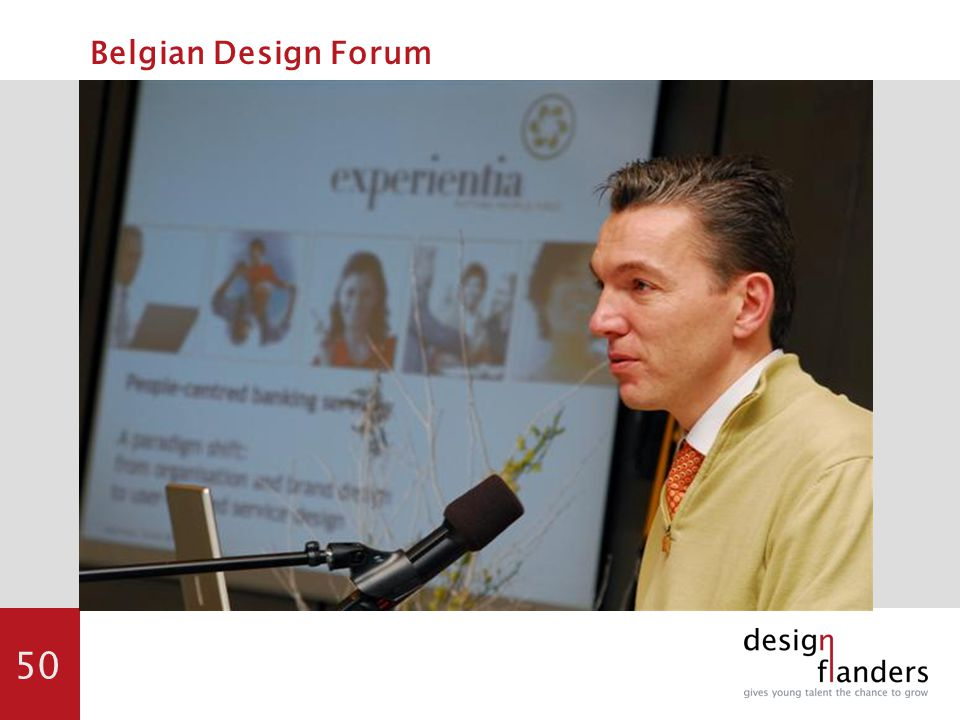 50 Belgian Design Forum