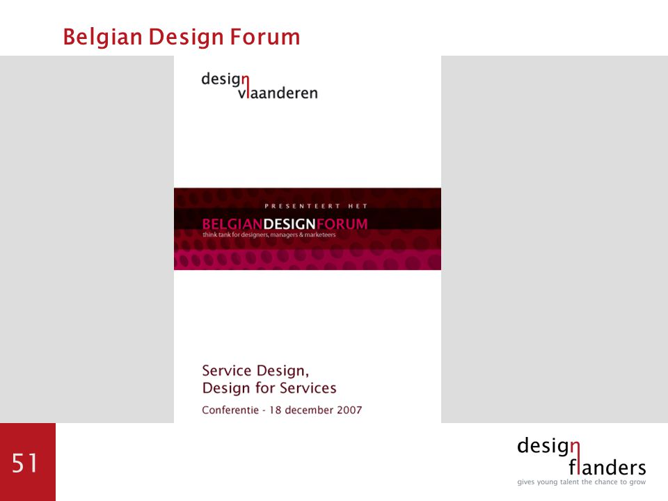 51 Belgian Design Forum