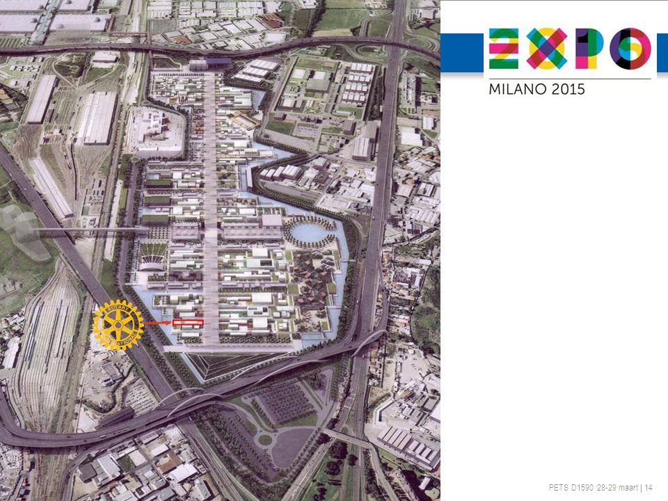 PETS D1590 28-29 maart | 14 ROTARY @ EXPO 2015 MILAAN