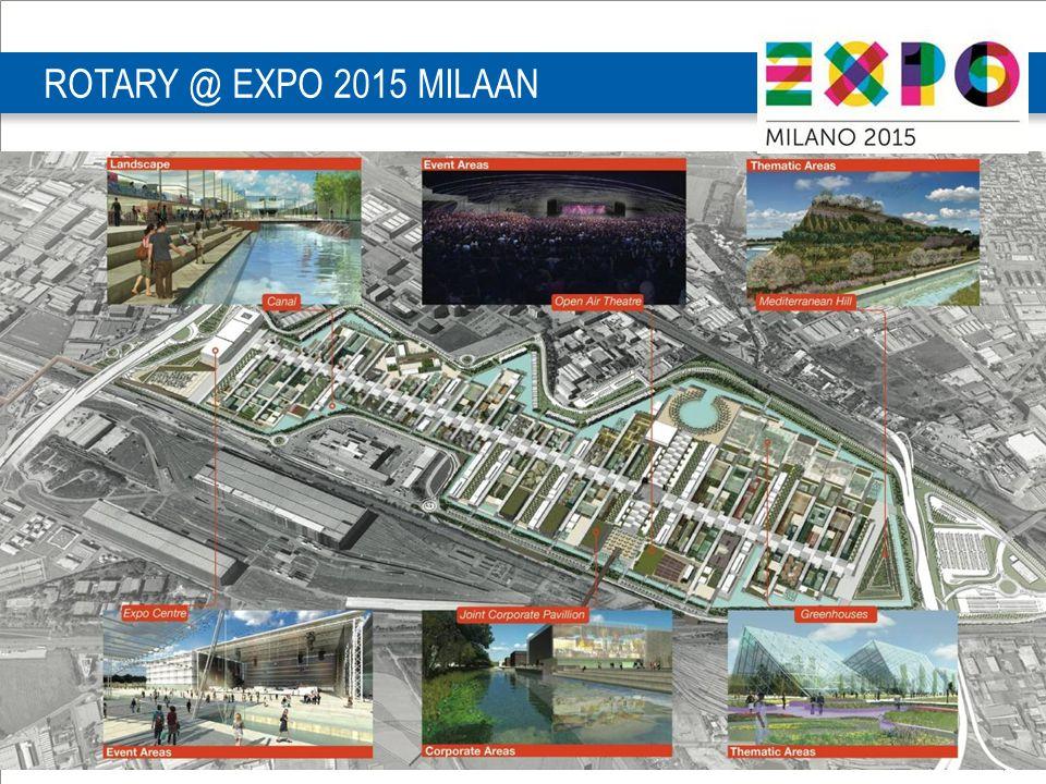 PETS D1590 28-29 maart | 4 ROTARY @ EXPO 2015 MILAAN