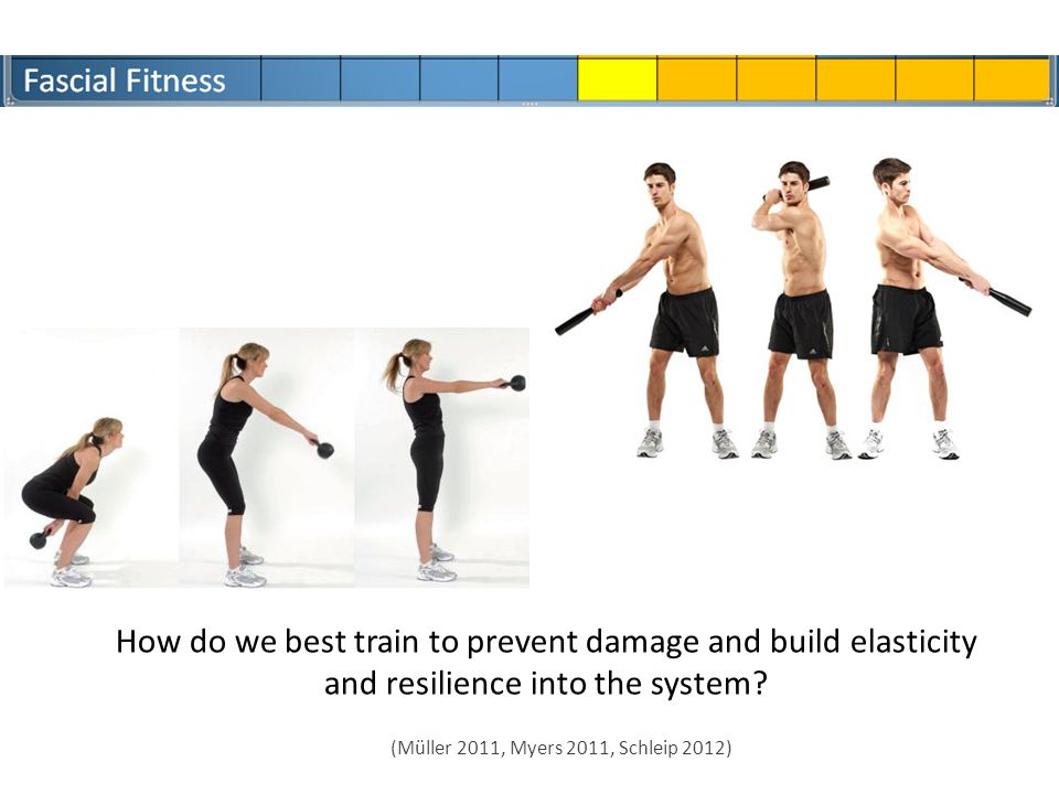 How do we best train to prevent damage and build elasticity and resilience into the system.