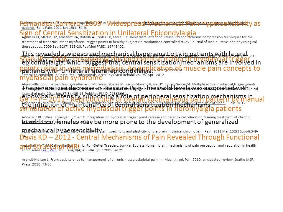 Affaitati G, Costantini R, Fabrizio A, Lapenna D, Tafuri E, Giamberardino MA. Effects of treatment of peripheral pain generators in fibromyalgia patie