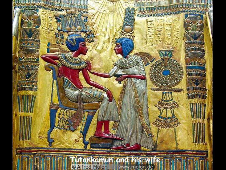 Tutankamun and his wife