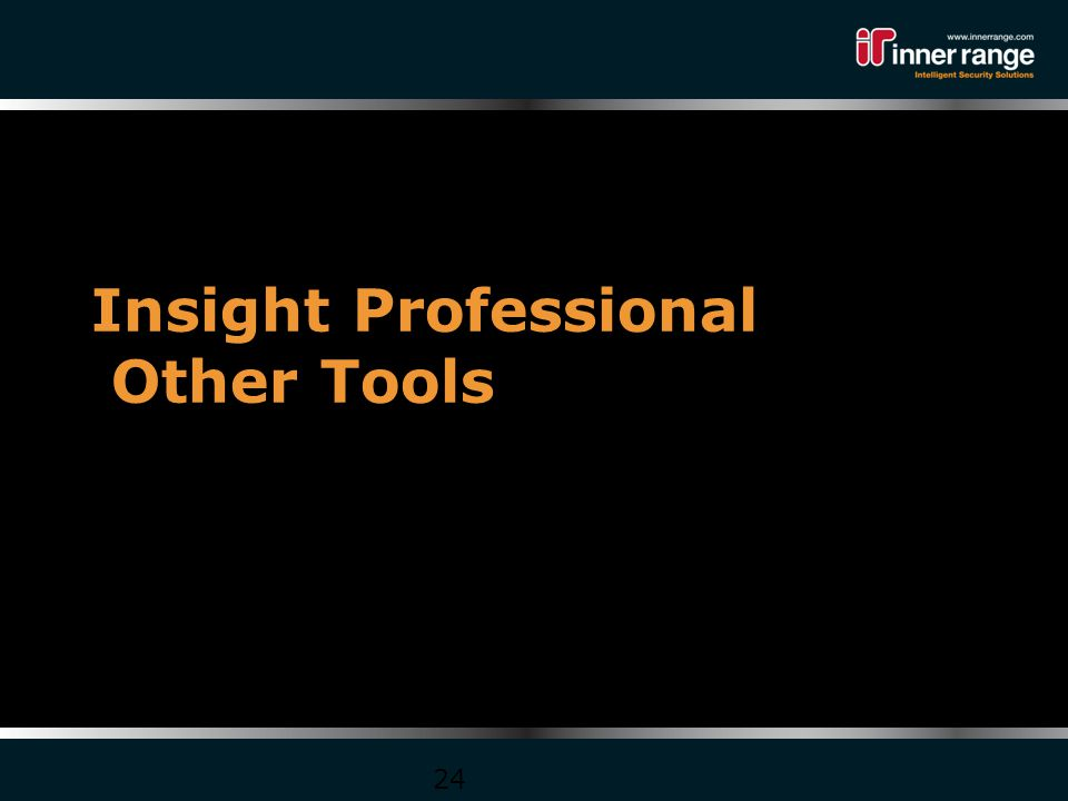 Insight Professional Other Tools 24