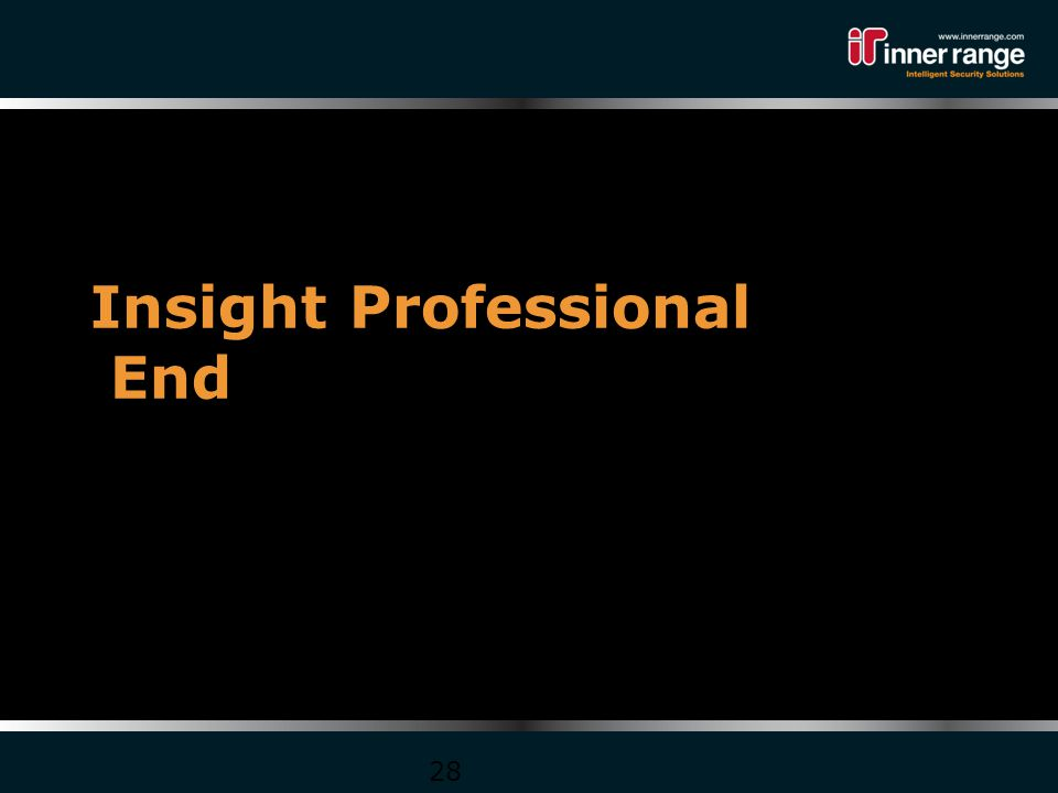 Insight Professional End 28