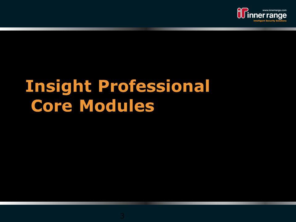 Insight Professional Core Modules 3