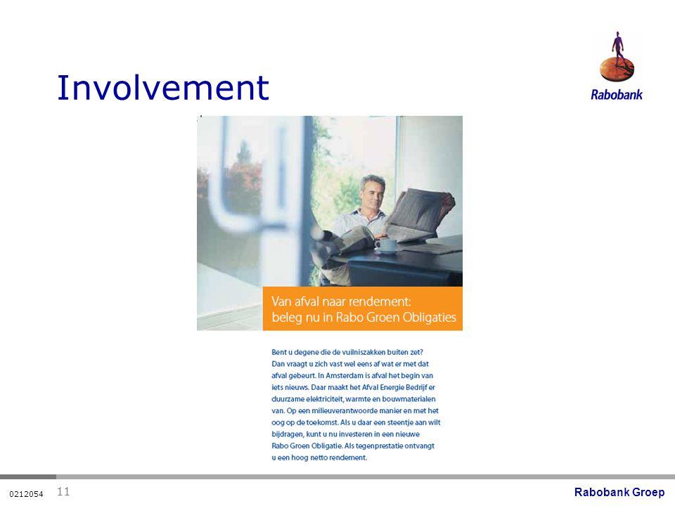 Rabobank Groep 0212054 11 Involvement