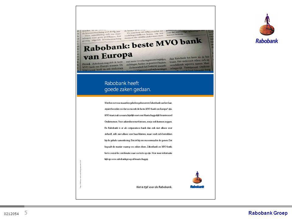 Rabobank Groep 0212054 5