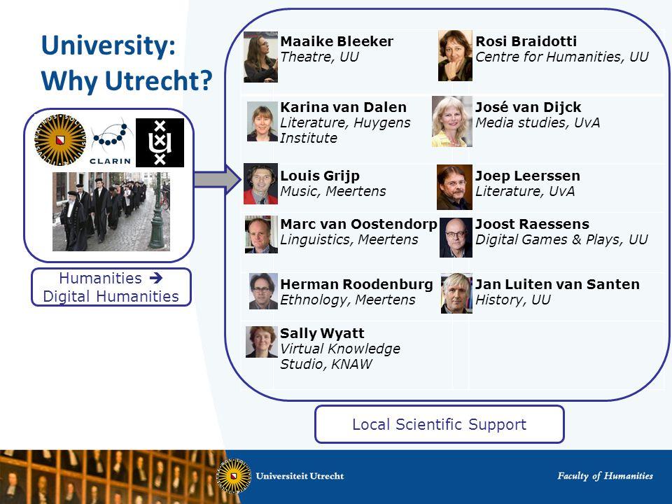 University: Why Utrecht.