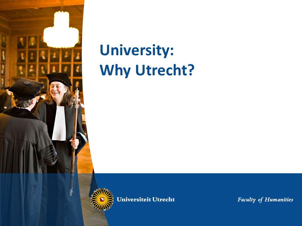 University: Why Utrecht?