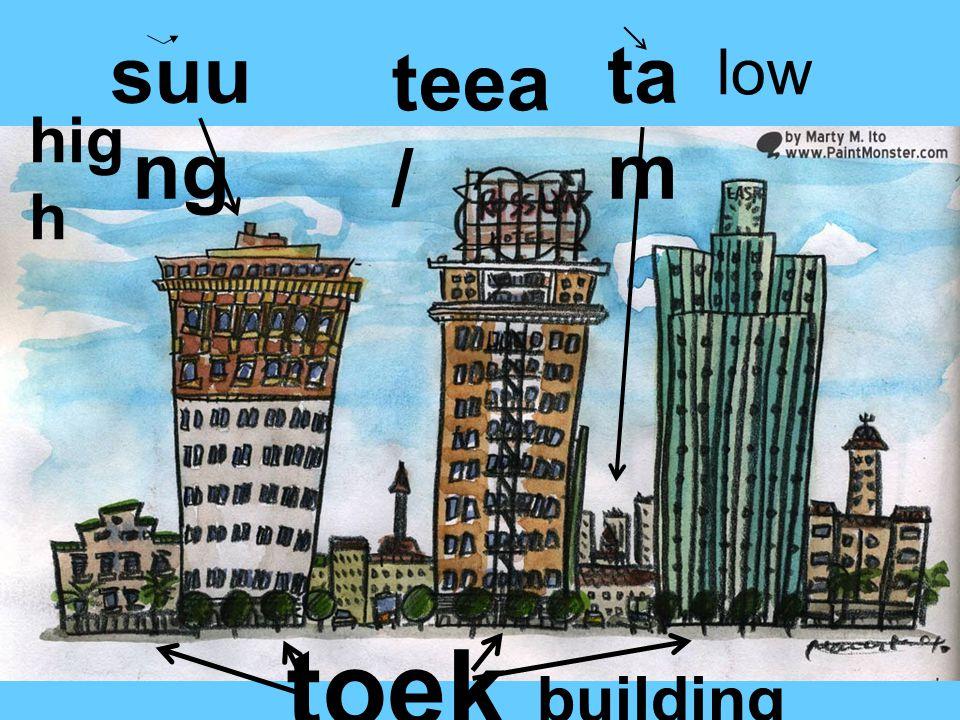 suu ng hig h ta m low toek building teea /