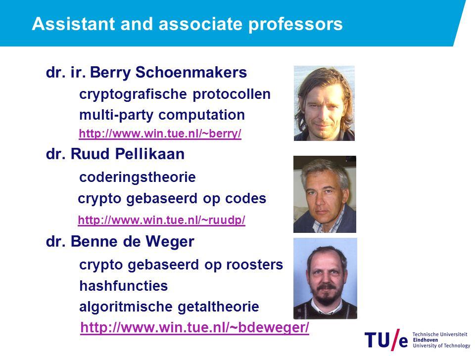 De mensen: promovendi ir.Thijs Laarhoven crypto gebaseerd op roosters drs.