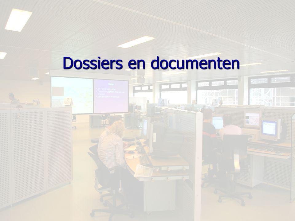 Dossiers en documenten