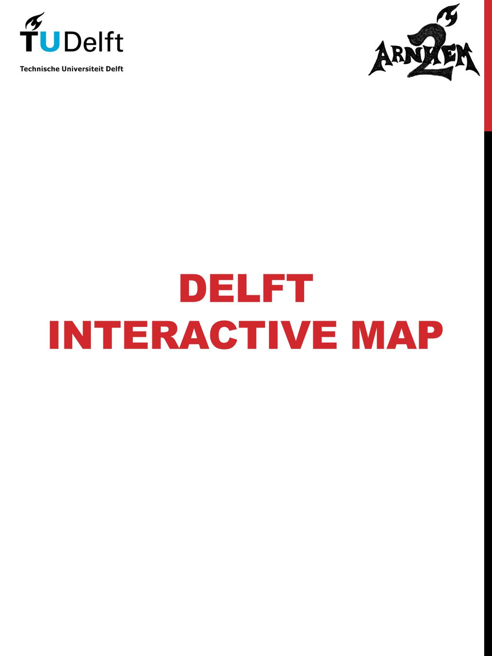 DELFT INTERACTIVE MAP