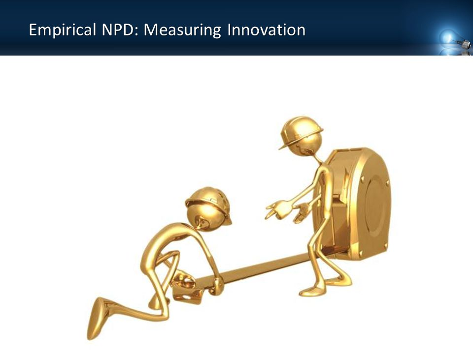 Empirical NPD: Measuring Innovation