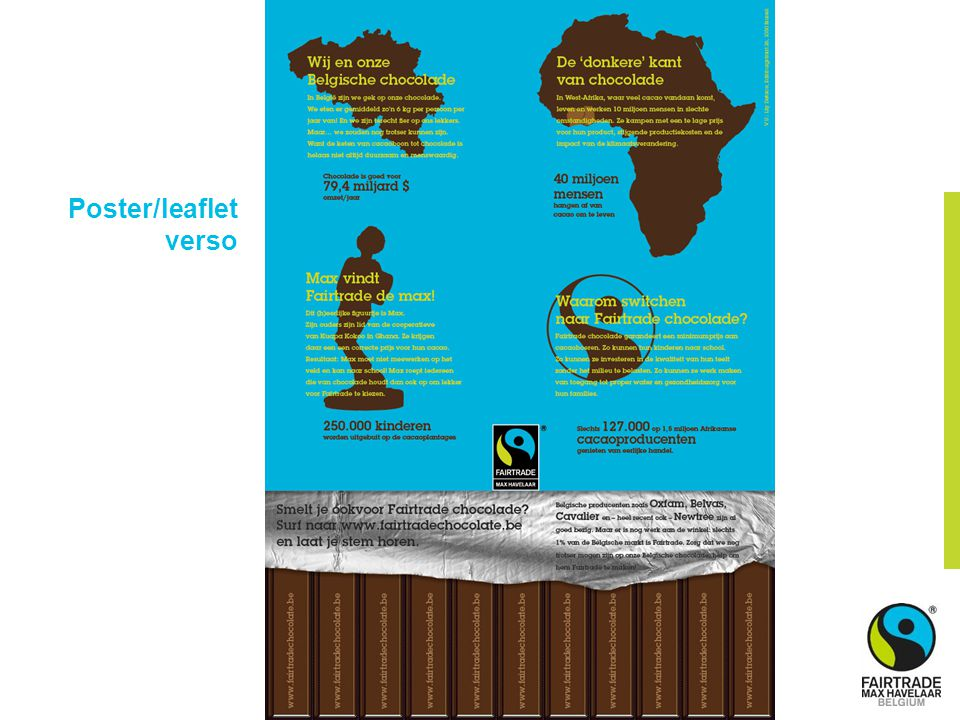 Poster/leaflet verso