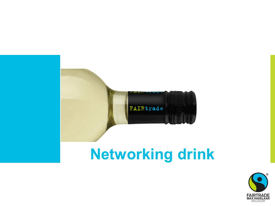 Networking drink