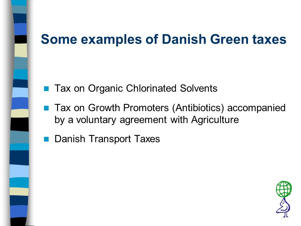 Annual Consumption of Taxed Organic Solvents The (small) Tax on Organic Solvents was introduced in 1996
