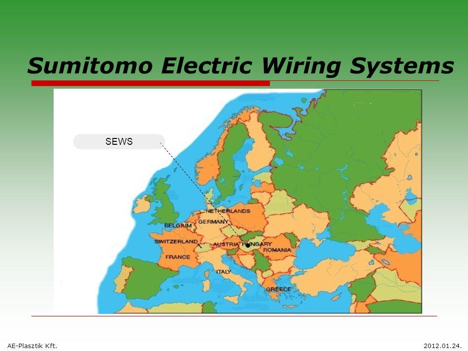 Sumitomo Electric Wiring Systems AE-Plasztik Kft.2012.01.24. SEWS
