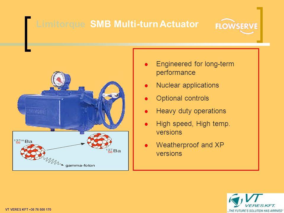 Limitorque L120 Multi-turn Actuator l World proven reliability l Integral control options l Weatherproof and XP versions l Low maintenance l Meets rig