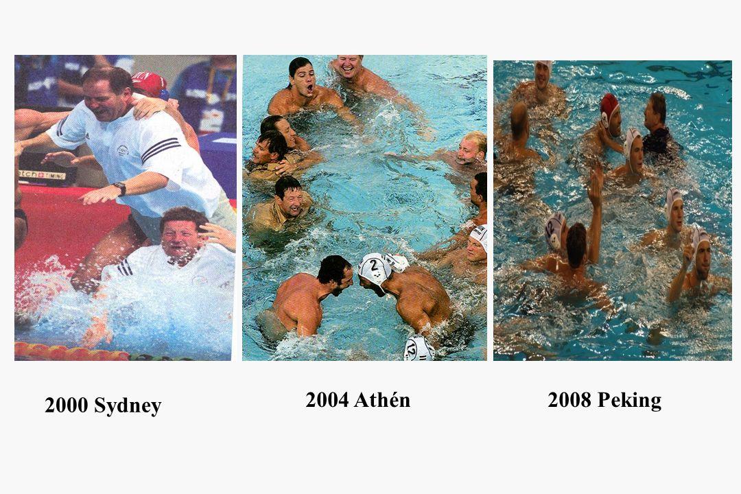 2000 Sydney 2004 Athén2008 Peking