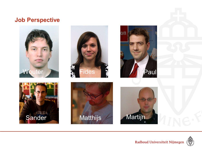 Job Perspective WouterFides MatthijsSander Paul Martijn