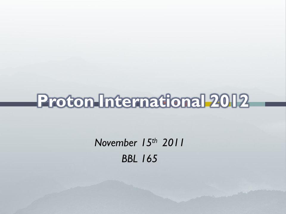 November 15 th 2011 BBL 165