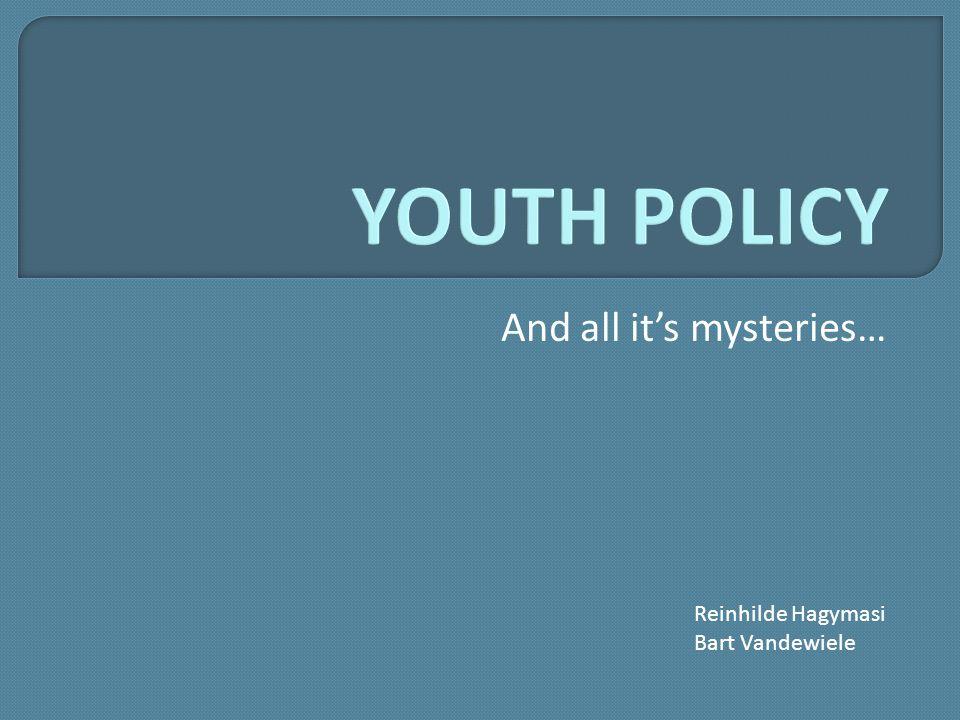 And all it's mysteries… Reinhilde Hagymasi Bart Vandewiele