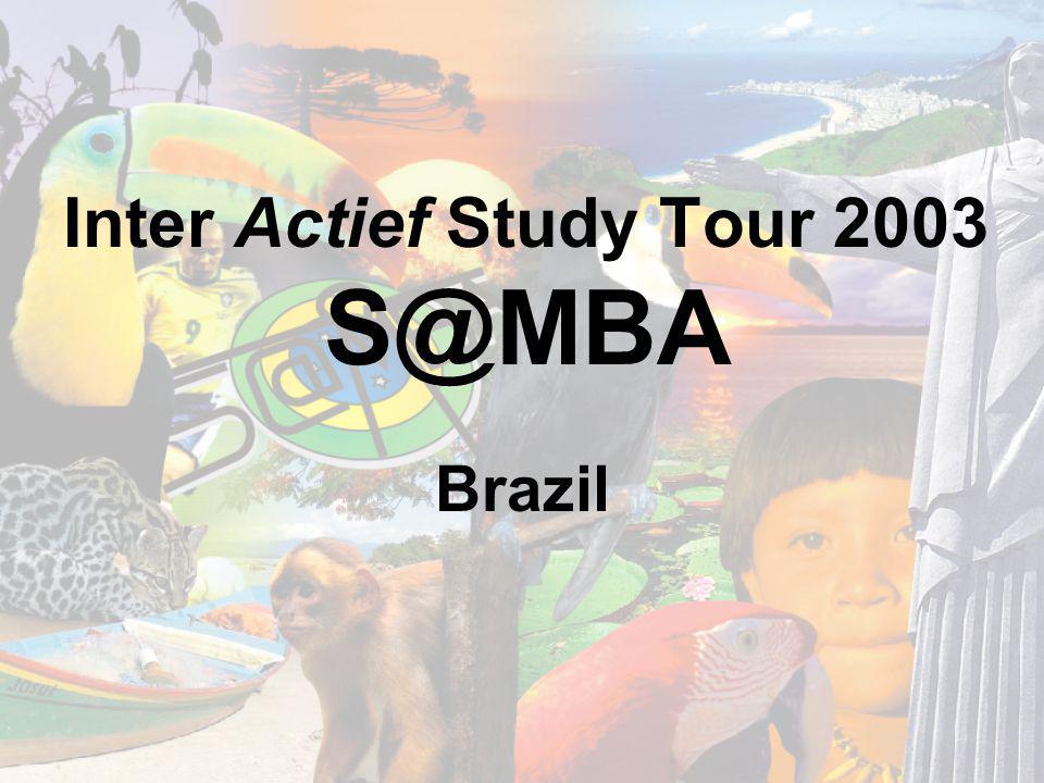 Inter Actief Study Tour 2003 S@MBA Brazil