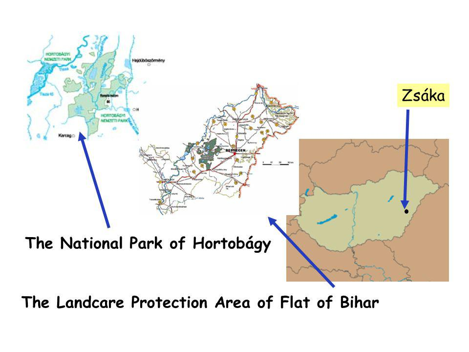 Zsáka The National Park of Hortobágy The Landcare Protection Area of Flat of Bihar