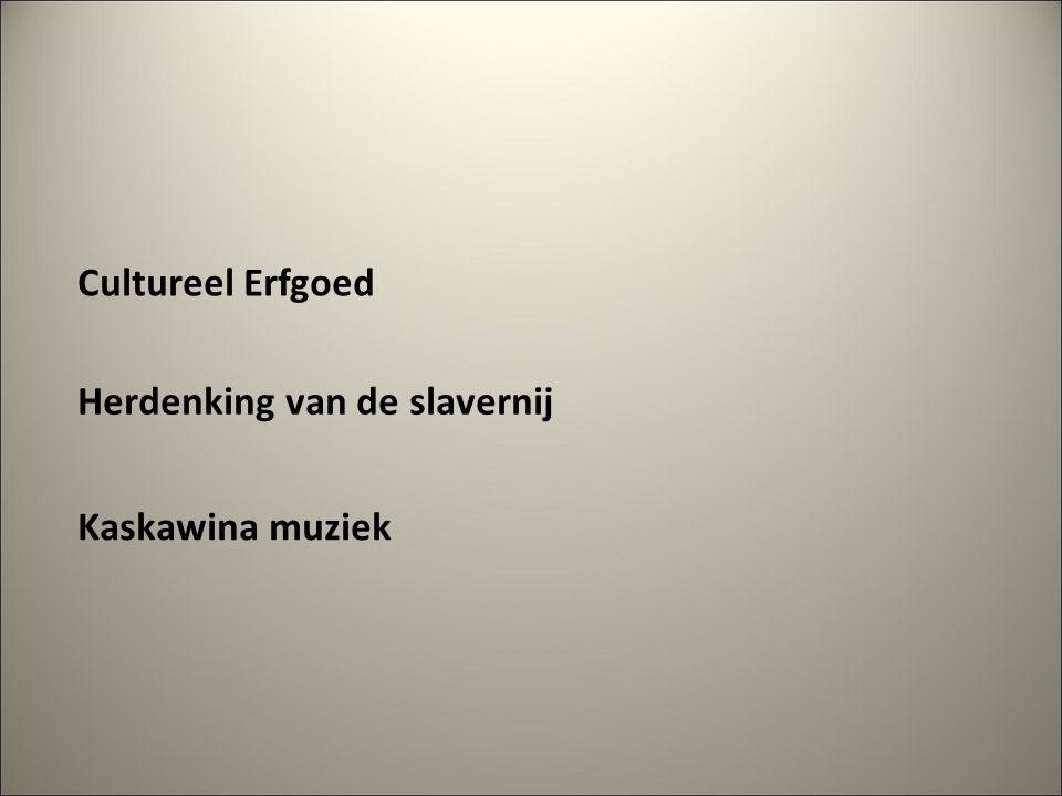 Herdenking van de slavernij Cultureel Erfgoed Kaskawina muziek
