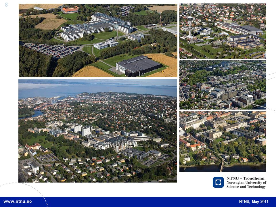69 NTNU, May 2011 Main objectives Activities at an international level, with several research groups of international top-class.