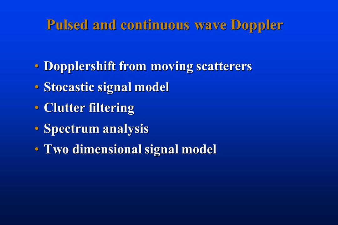 MEDT8002 Blood flow measurement by Doppler technique Hans Torp Institutt for sirkulasjon og medisinsk bildediagnostikk Hans Torp NTNU, Norway