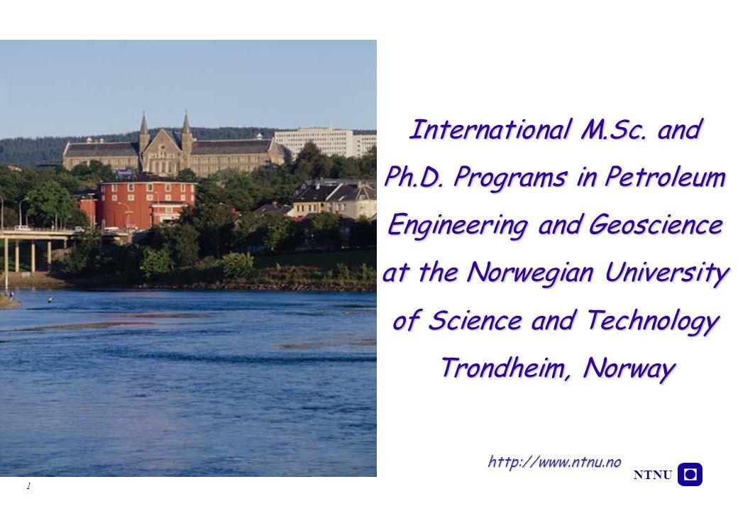 NTNU 22 More than 5000 researchers, professors and staff More than 20000 students The NTNU & SINTEF Campus in Trondheim  One of the largest campuses for research & education in Europe