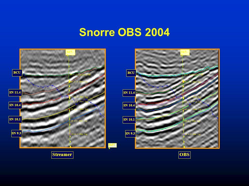 Snorre OBS 2004 SN 10.1 SN 9.3 SN 10.4 SN 11.4 BCU lfu91 6 34/7- 3 Streamer SN 10.1 SN 9.3 SN 10.4 SN 11.4 BCU 34/7- 3 OBS