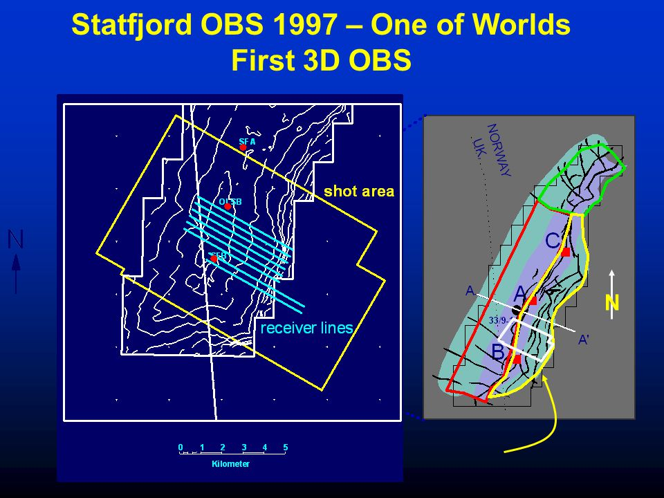 N Statfjord OBS 1997 – One of Worlds First 3D OBS