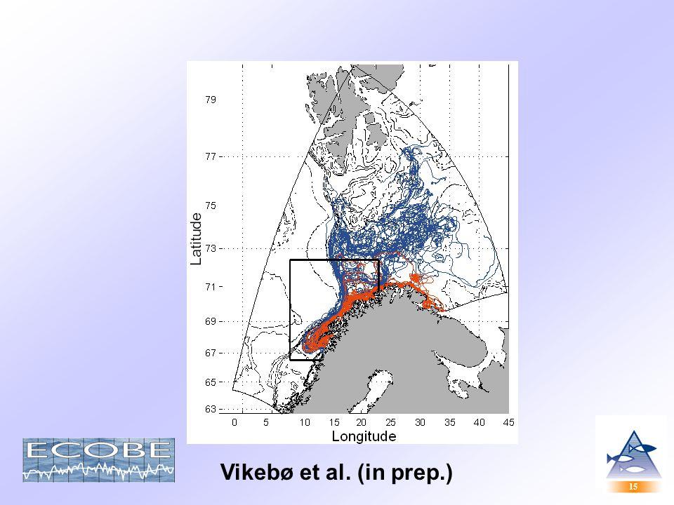 15 Vikebø et al. (in prep.)