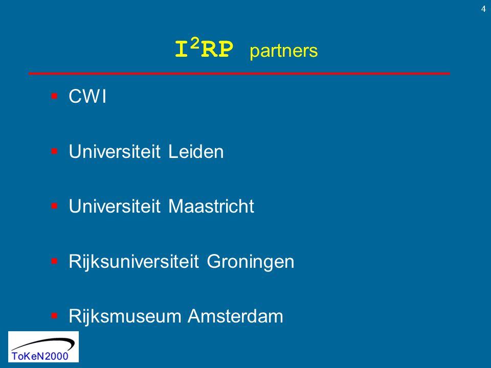 5 prof.L. HardmanCWI/TUE prof. dr. H.J. van den HerikUM prof.