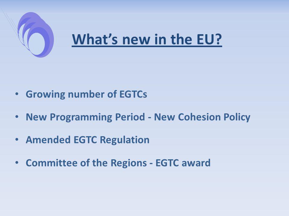 EGTCs in Europe
